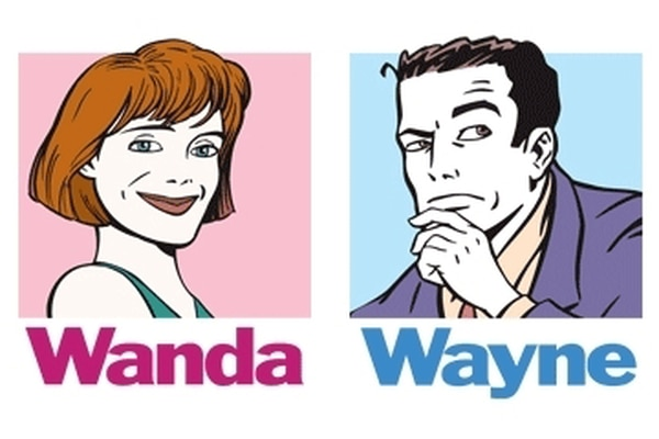 Wayne and Wanda advice bug