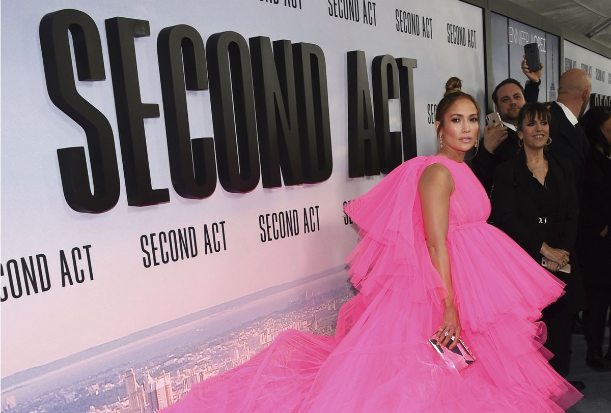 FILE - In this Dec. 13, 2018, file photo, Jennifer Lopez attends the world premiere of