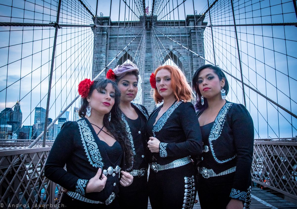Flor de Toloache will perform in Anchorage this Saturday alongside Ozomatli. (Photo by Andrei Averbuch)