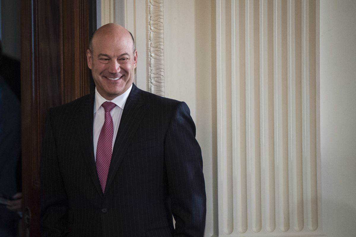 Economic adviser Gary Cohn, seen above in April 2017, was considered one of the more stable parts of the White House administration. He announced his resignation Tuesday. Washington Post photo by Jabin Botsford