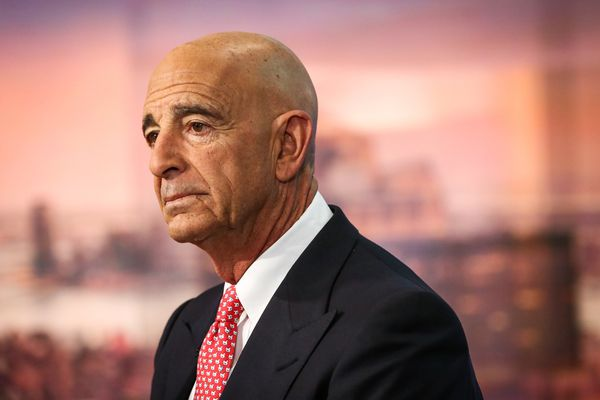Thomas Barrack, executive chairman of Colony NorthStar Inc., during a Bloomberg Television interview in New York on Jan. 31, 2017. MUST CREDIT: Bloomberg photo by Christopher Goodney.