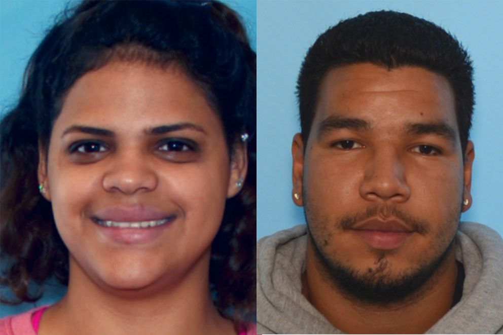 Shirley Borrero-Qinones, left, and Hector Rivera (Courtesy APD)