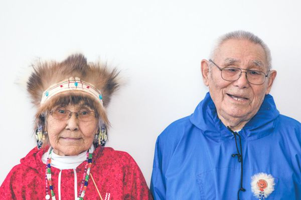 Vivian and Raphael Jimmy, founders of Kuigpagmiut