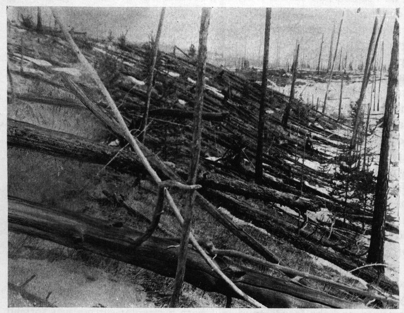 Enormous blast in Siberia more than a century ago remains a mystery