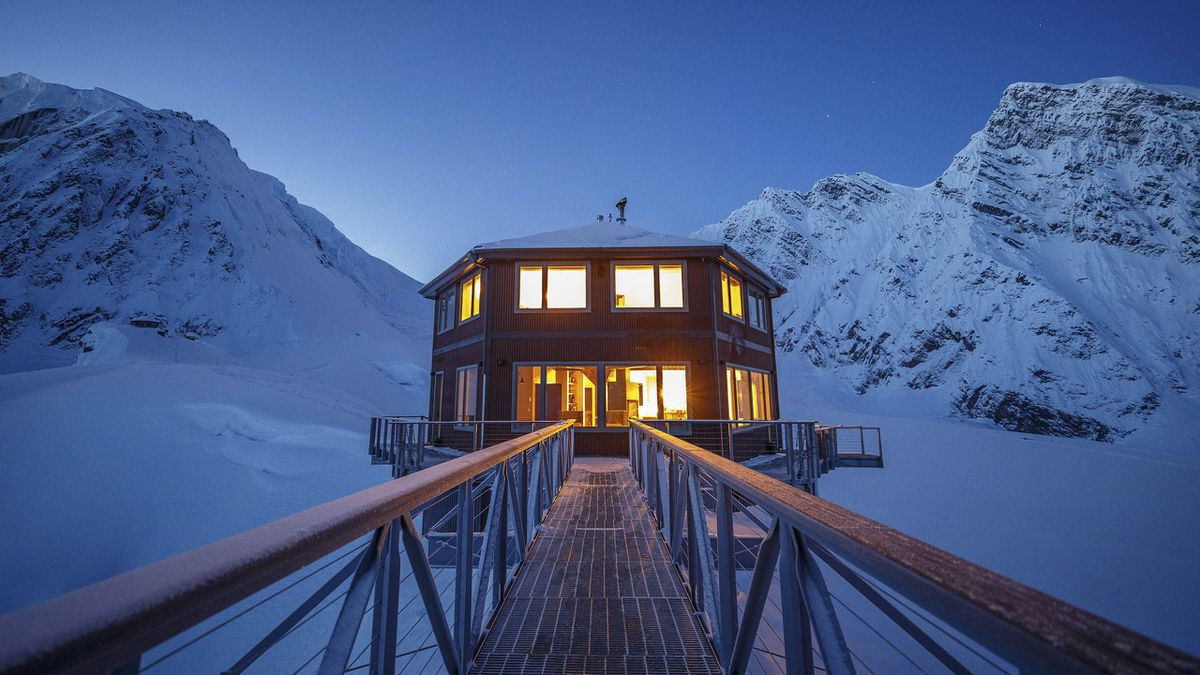 The Sheldon Chalet in Alaska's Denali National Park. (Sheldon Chalet)