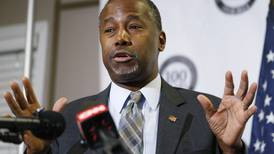Ben Carson tells supporters he sees no 'path forward' for campaign