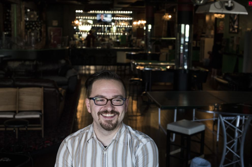 Higher Limits co-owner Jon Liedtke said he hopes recreational marijuana will be a tourist draw for U.S. citizens, but he also worries about their interactions with U.S. officials at the border. (Brittany Greeson for The Washington Post)