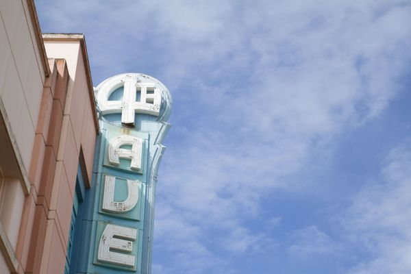 4th Avenue Theatre remains unused in downtown Anchorage on Wednesday, June 1, 2016. A proposal including a tax break to redevelop the 4th Avenue Theatre was denied by the Anchorage chief fiscal officer. (Sarah Bell / Alaska Dispatch News)