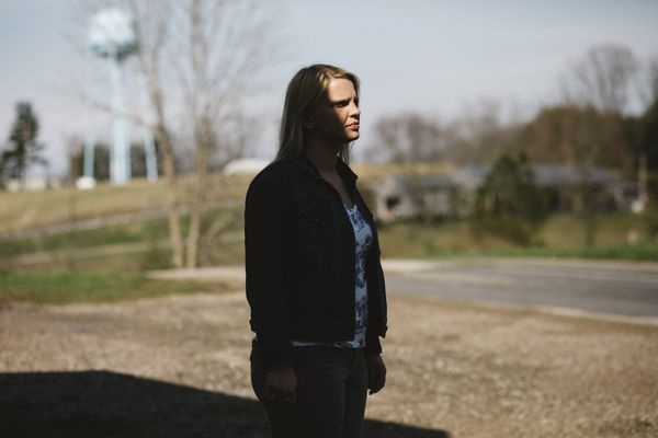 Lily Niple, 34, who has struggled with opioid addiction, said her hometown in Vinton County, Ohio, feels as if it was
