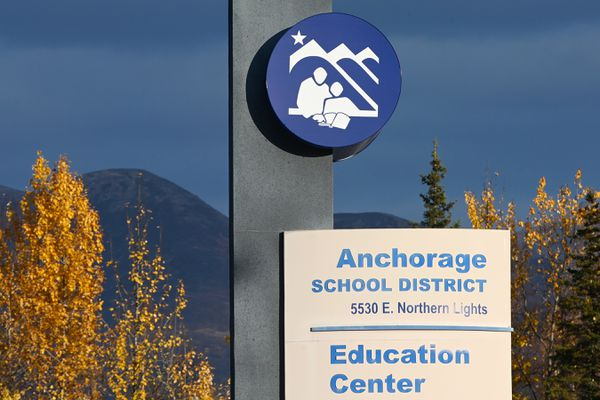 Anchorage School District on Tuesday, Oct. 6, 2020. (Bill Roth / ADN)