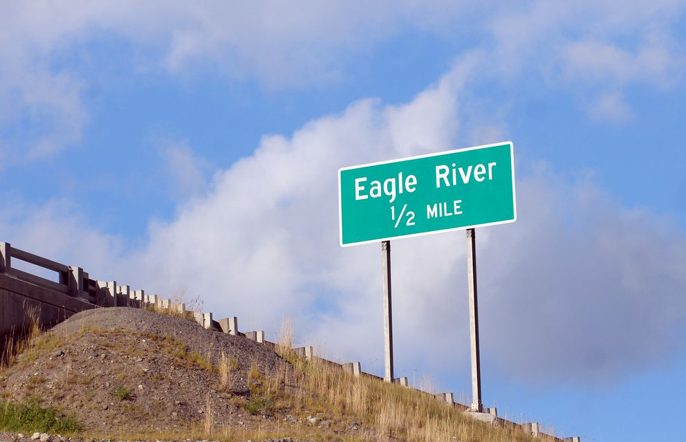 Eagle River is located about 9 miles north of Anchorage on the Glenn Highway. (Chugiak-Eagle River Star file photo / Matt Tunseth)