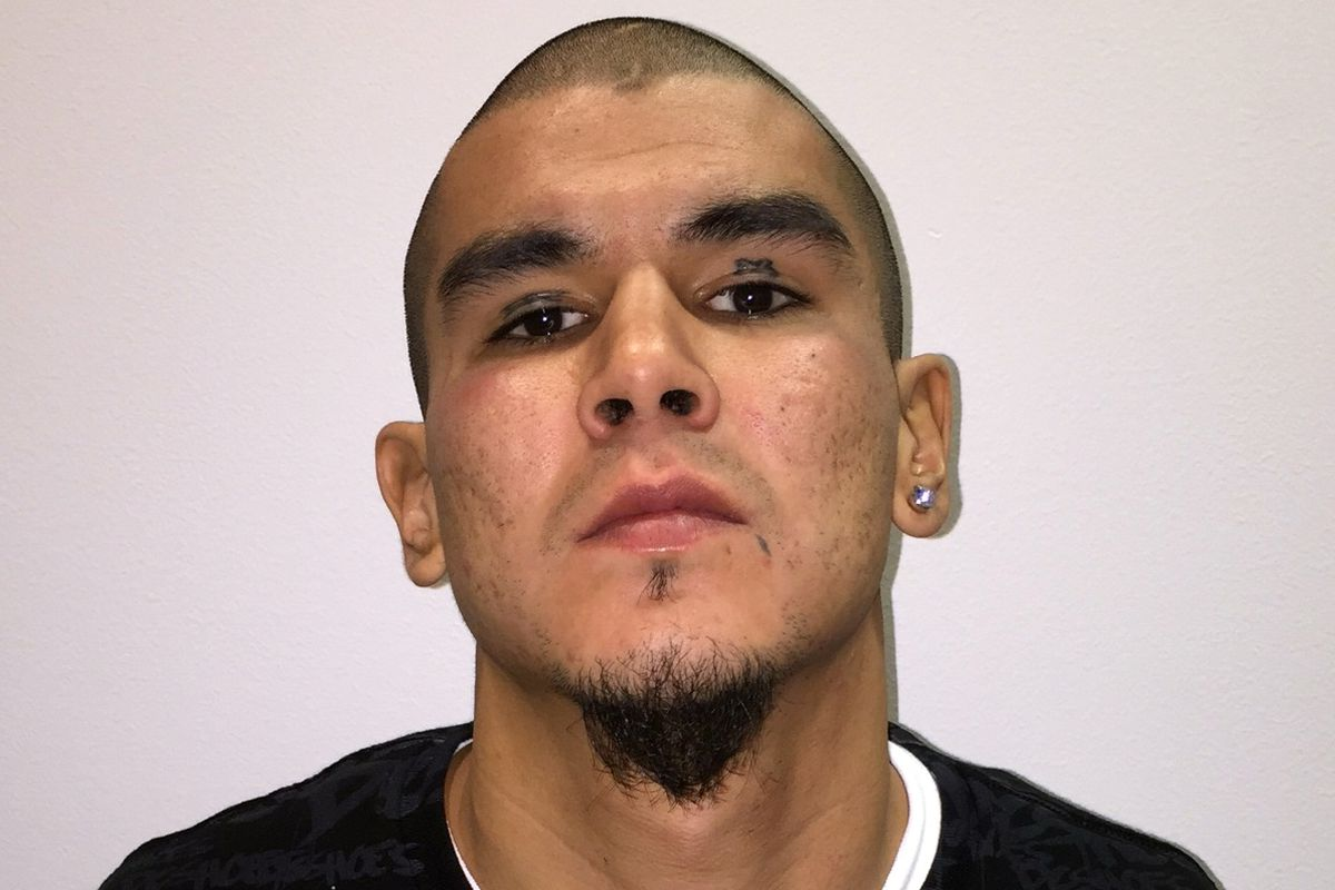 Anthony George Jenkins-Alexie was taken into custody Tuesday and charged with attempted murder in the first degree in the shooting of Fairbanks police officer Allen Brandt. (Fairbanks Police Department)