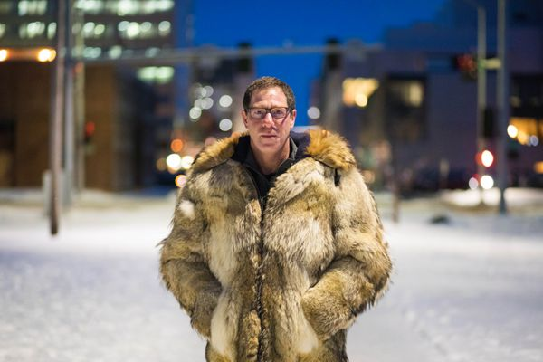 Orthopedic physician Dr. Al Gross is sponsoring two petitions to reform healthcare in Alaska. Photographed in Anchorage on Thursday, Nov. 30, 2017. (Loren Holmes / ADN)