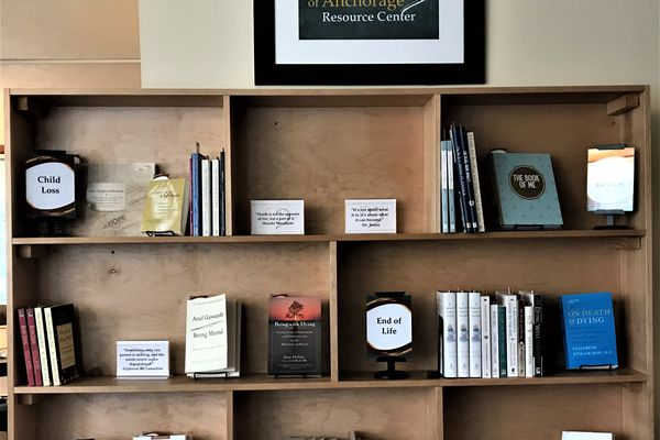 Hospice of Anchorage has items meant to help community members who are living with dementia, life-limiting illnesses or grief available at no cost through its expanded library of resources. (Photo provided by Hospice of Anchorage)