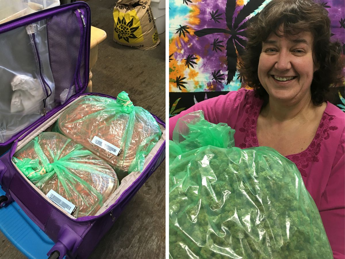Weed on a plane: How Alaska businesses get pounds of pot on