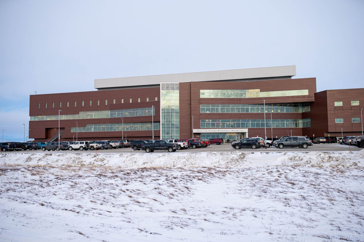 Nome's Norton Sound Regional Hospital, photographed on Dec. 13, 2019. (Loren Holmes / ADN archive)