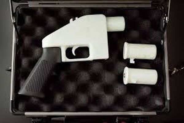 A printable pistol released to Internet was named