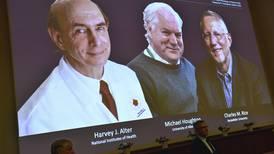 Three scientists win Nobel medicine prize for discovering hepatitis C virus