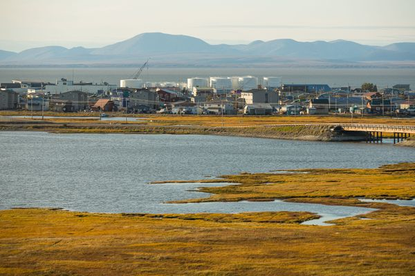OPINION: Alaska, both above and below the Arctic Circle, has much to offer if Alaskans are free to make the most of our resources. Pictured: The city of Kotzebue, where on Sept. 2 President Obama became the first sitting U.S. president to visit Alaska north of the Arctic Circle.