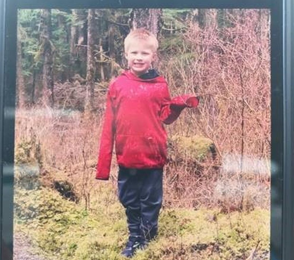 Jaxson Brown, 5, in an undated photo (Courtesy Alaska State Troopers)