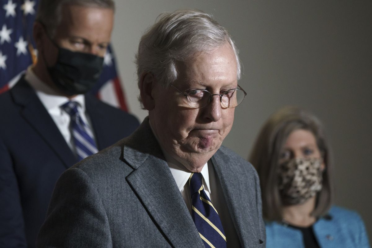 McConnell says hes revising Senate pandemic relief plan...