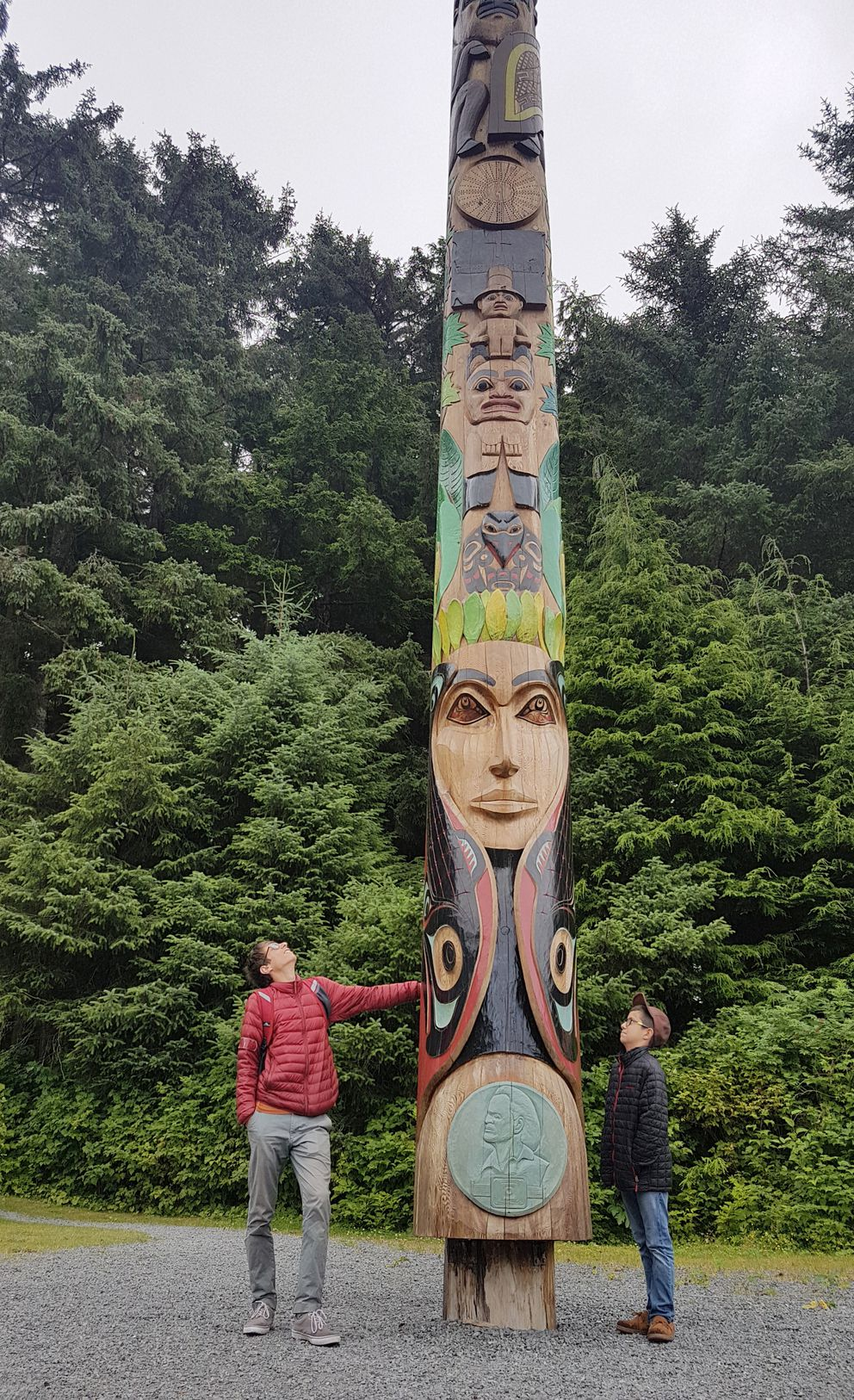 Walking through Sitka National Historic Park means exploring the many stories in the totems displayed there. (Photo by Erin Kirkland)