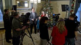 Gov. Walker, Juneau celebrate a 100-year Christmas tradition with open house