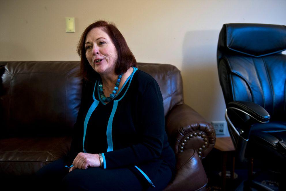 Sen. Berta Gardner, D-Anchorage, onJan. 19, 2017 (Marc Lester / ADN archive)