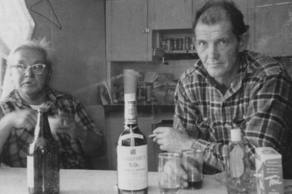 OPINION: You want a long-shot bet? What are the chances Kodiak family members who didn't even know they were family would find out over a Super Bowl pool in Cordova. Pictured: Grandma Matrona and Grandpa Slim, circa 1960.