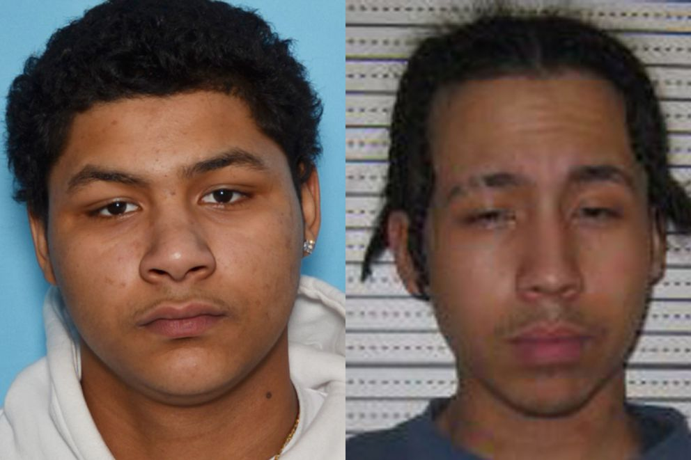 Homicide suspects Mickee Thompson (left) and Robert Smith. (Photos provided by APD)