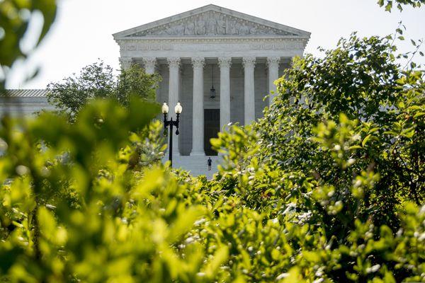 The Supreme Court, Wednesday, July 8, 2020, in Washington. (AP Photo/Andrew Harnik)