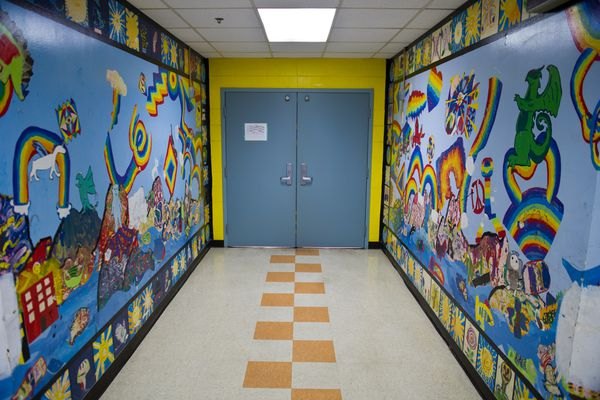 OPINION: Is Anchorage ready to consolidate schools for greater economy? We can do it, but there's a price to pay. Pictured: A hallway at Gladys Wood Elementary School, which would undergo remodeling if voters approve in the municipal election on Tuesday.