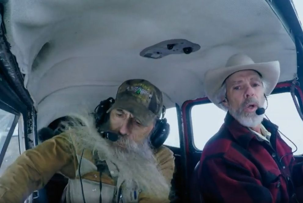 "Scene from season three of ""Edge of Alaska,"" a Discovery Channel show set in Alaska. (Screen capture via discovery.com)"