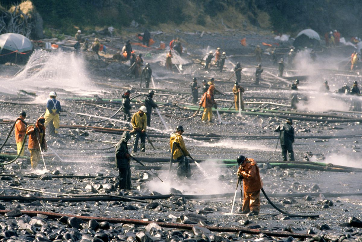 No The Exxon Valdez Oil Spill Did Not Bring Alaska Out Of