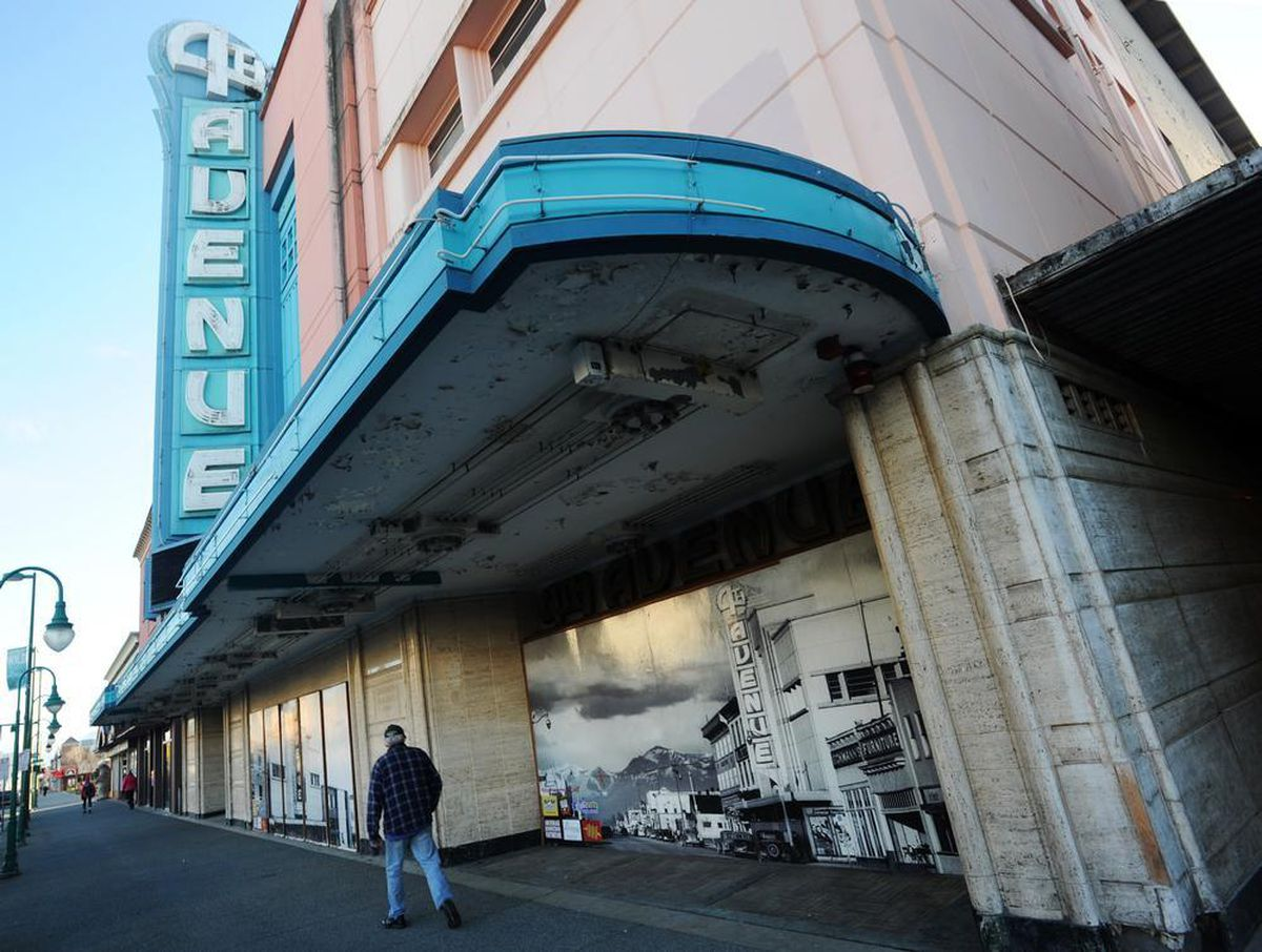 The 4th Avenue Theatre sits unused on Nov. 8, 2013, in downtown Anchorage. (Erik Hill / ADN)