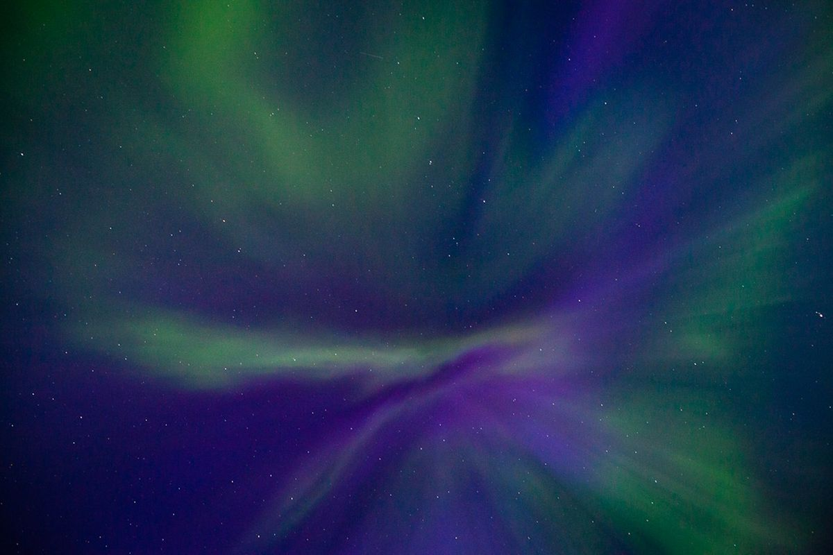 Viewing northern lights in the bright Alaska summer: Is it