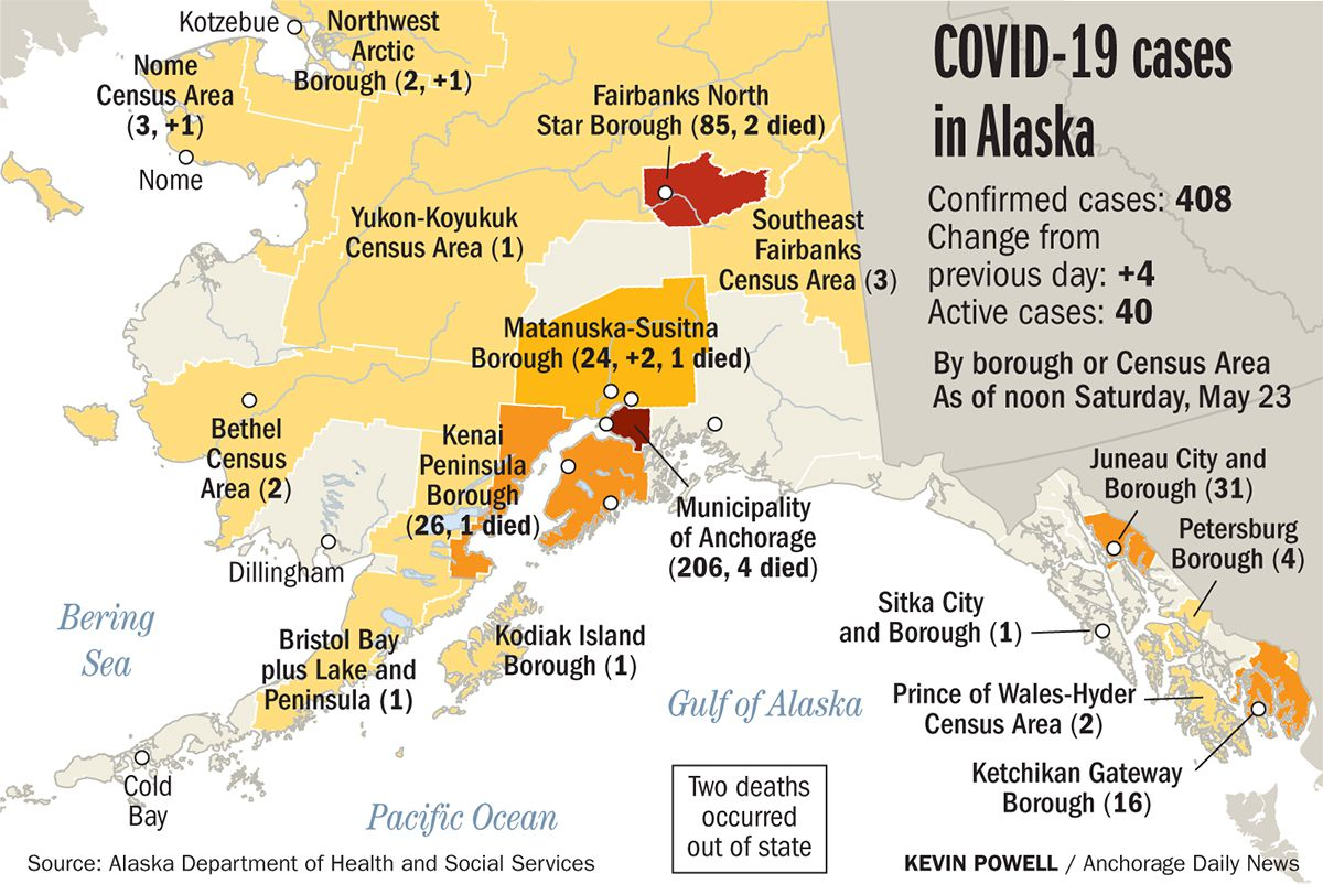 First case of COVID-19 in Valdez involves seafood industry worker from out of state