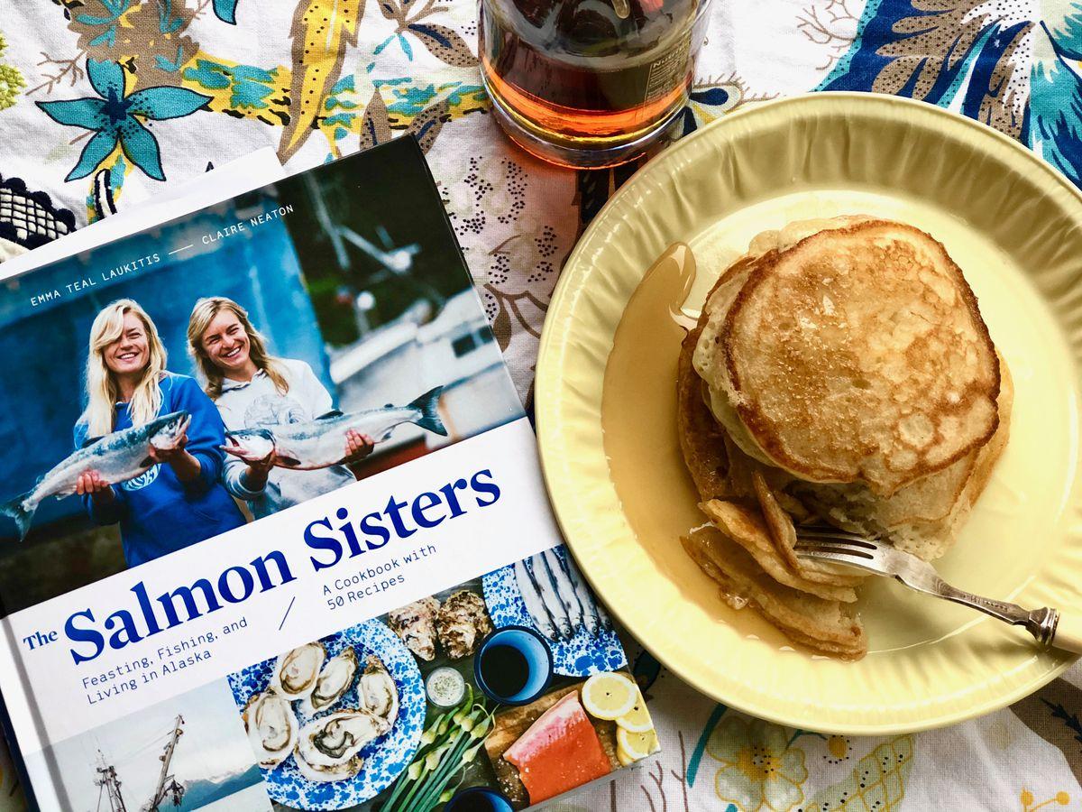 The Salmon Sisters' Winter Caretaker sourdough pancakes (Photo by Kim Sunée)
