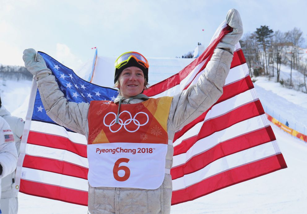 Slopestyle gold-medalist Red Gerard. (Mike Blake / Reuters)