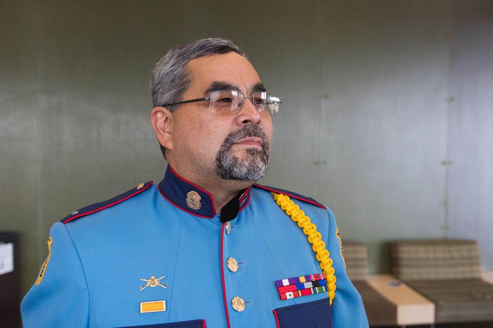 Alaska State Trooper Lonny Piscoya. (Loren Holmes / ADN)
