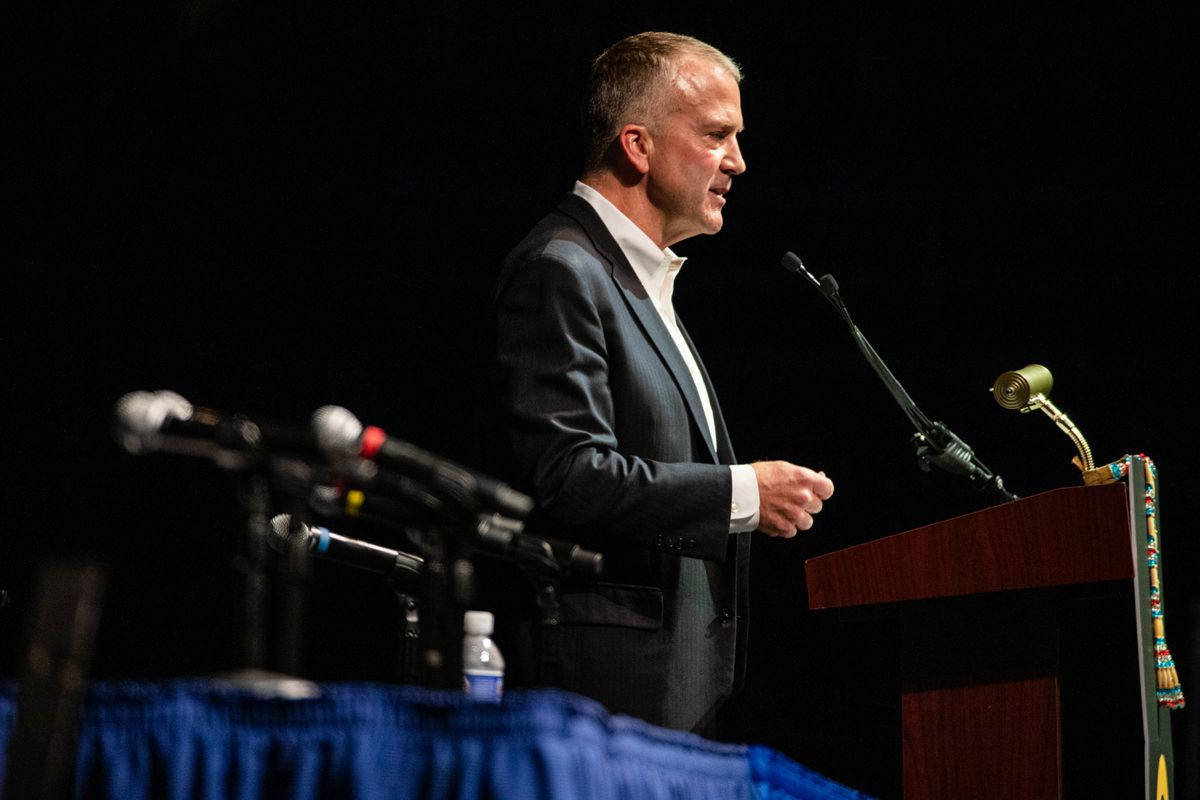 Sen. Sullivan says 'No Pebble mine' following release of secretly recorded videos of company executives and criticism by Gross