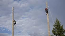 Watch: 'Tree-mendous' lumberjacks perform at the Alaska State Fair