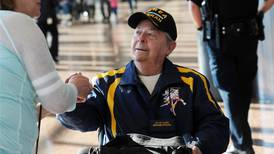 Photos: Last Frontier Honor Flight of Alaska veterans departs for D.C.