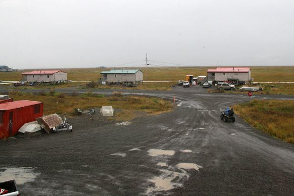 The Southwestern Alaska village of Quinhagak on Sept. 15, 2016. (Lisa Demer / Alaska Dispatch News)