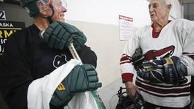 No refs, no teams, few rules — no wonder this old-time Alaska hockey club has a waiting list