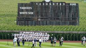 MLB's New York Yankees and Chicago White Sox go deep into the corn at makeshift 'Field of Dreams' stadium