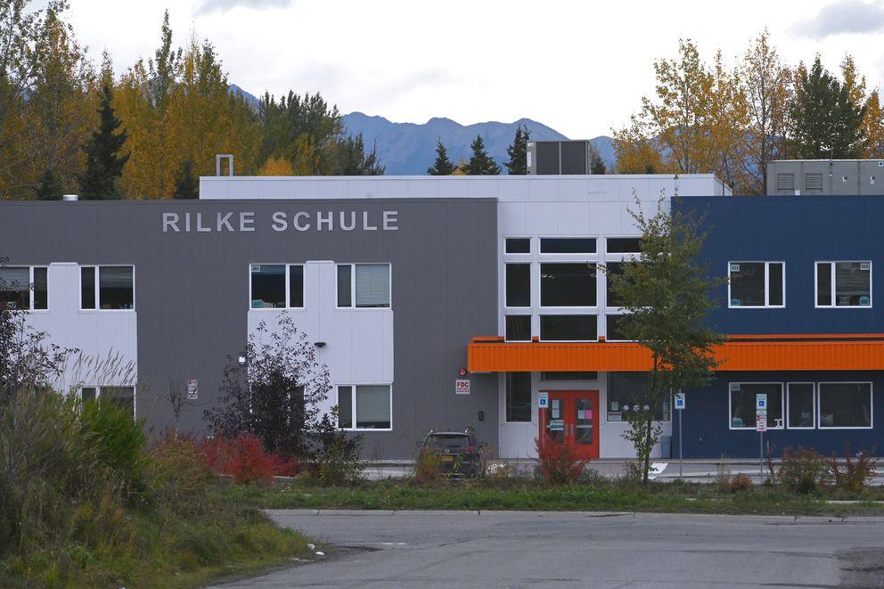 Rilke Schule, the German language-focused charter school on Sunday, Sept. 27, 2020. (Bill Roth / ADN)
