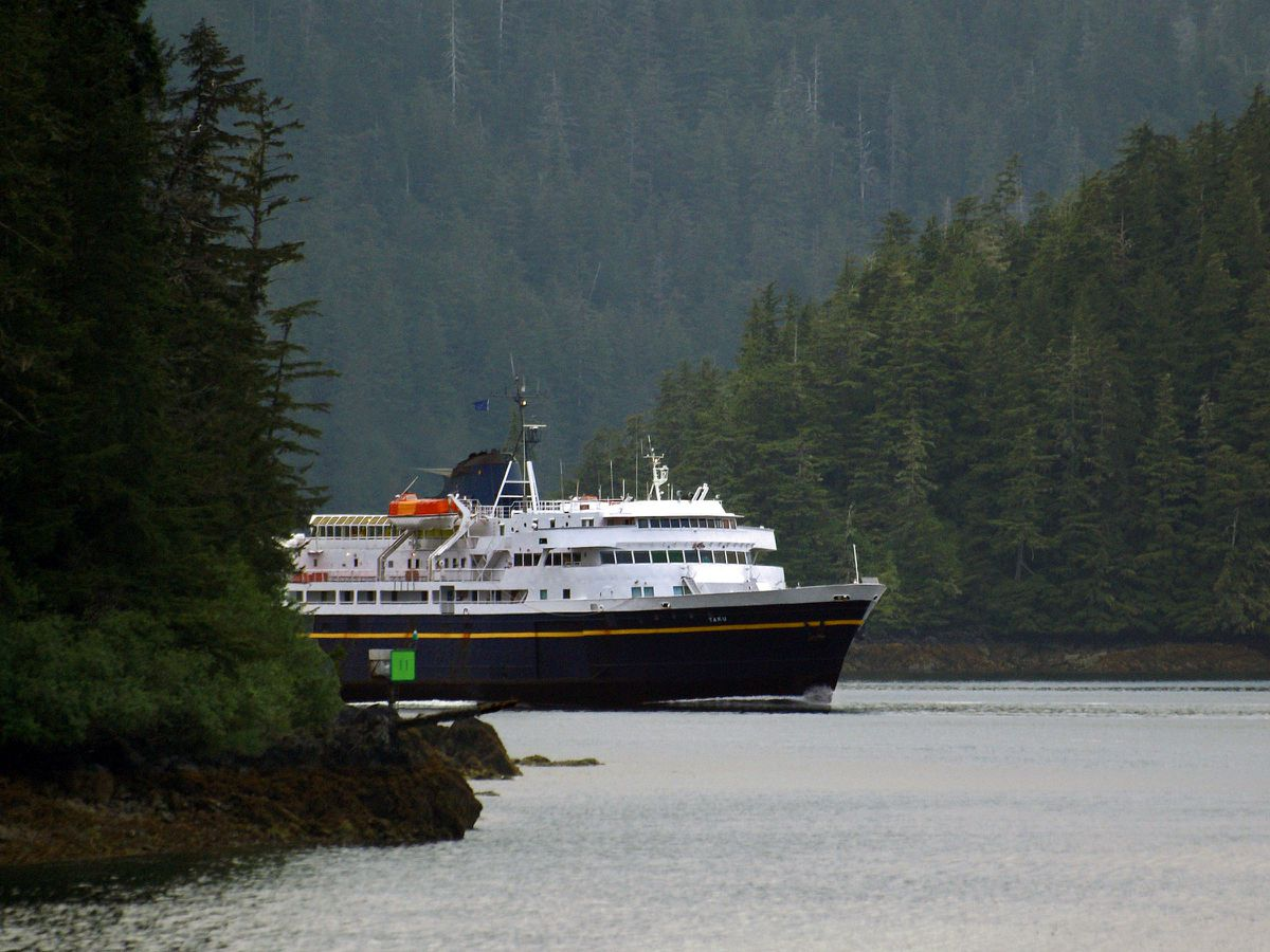 The M/V Taku. (Alaska Department of Transportation and Public Facilities)