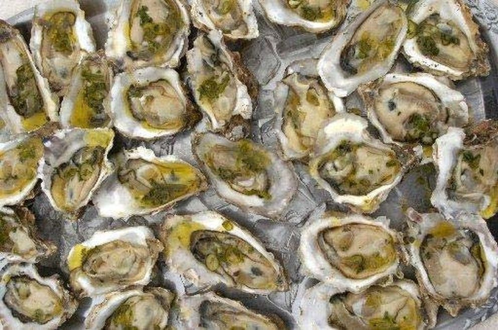Kachemak Bay oysters will be on sale 9 a.m. to 2 p.m. May 30. 2009, at Anchorage Farmers Market. (Bill Roth / ADN)