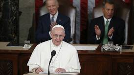In address to Congress, pope urges U.S. acceptance of migrants